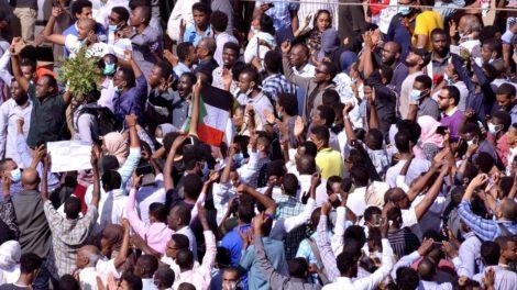 protests sudan