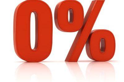 zero percent loan