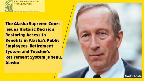 the alaska supreme court issues historic decision restoring access to benefits in alaskas public employees retirement system and teachers retirement system juneau alaska